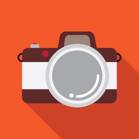 camera vector icon,flat icon design,esp10