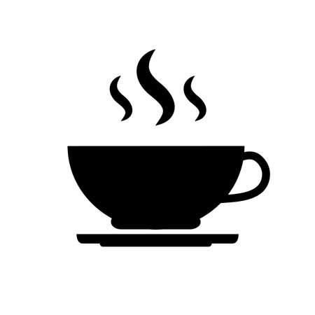 Kaffeetasse Vektor Icon flaches Design