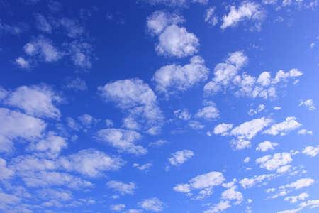Sky with tiny cloud Imagens