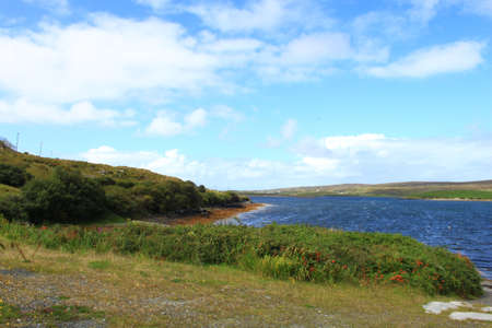 connemara: A seaside view taken in Connemara, Ireland. Stock Photo