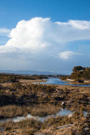 connemara: A landscape shot in Connemara, Co. Galway, Ireland Stock Photo