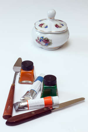 soumis: matériaux d'art et toujours un sujet de la vie