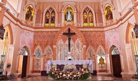Church in the church at Chantaburi Thailand.