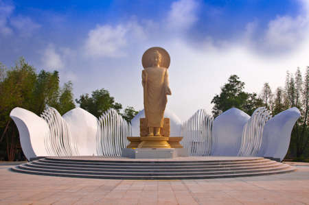 The Oriental Buddha in Trat province Thailand. photo