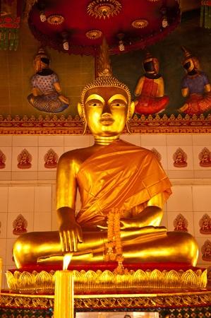 Buddha statue at Smyrna Bunyaram Temple, Chantaburi, Thailand. Stock Photo - 9923915