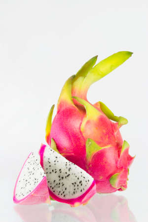 dragon fruit isolated photo