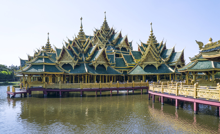 enlightened: Enlightened City Hall is located in the ancient province of Samut Prakan.
