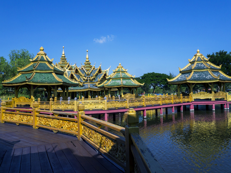 awakened: This photograph comes from the ancient city. Samut Prakan Province in Thailand.