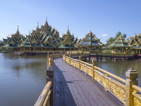 far east: Esta fotografía proviene de la antigua ciudad. Samut Prakan Province en Tailandia. Foto de archivo