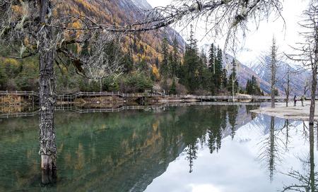 mirror: Mirror Lake. Stock Photo