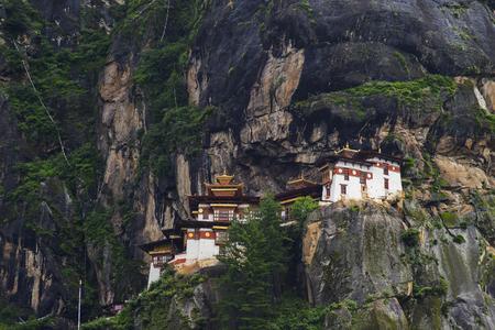 monastery: Taktshang monastery in Bhutan