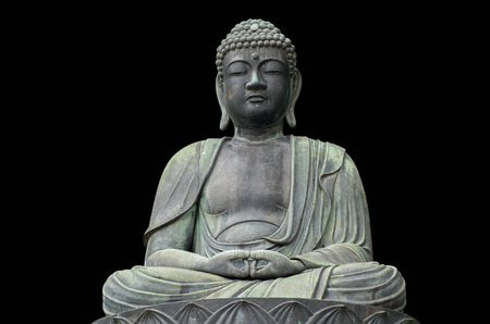 buddha tranquil: The Great Buddha Daibutsu in Japan Stock Photo