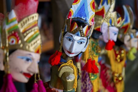 Traditional puppet,Indonesia. Stock Photo