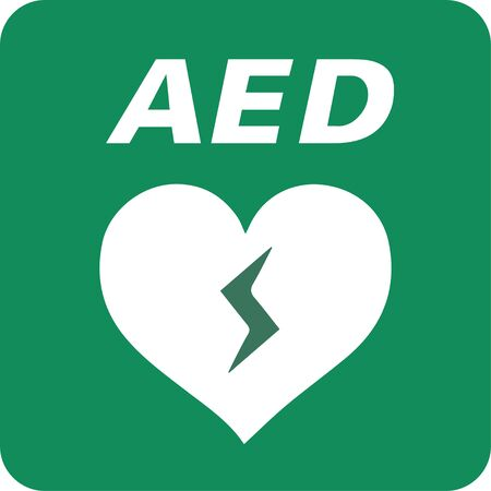 AED symbol icon. Imagens - 144020331