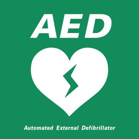AED symbol icon. Imagens - 144020333