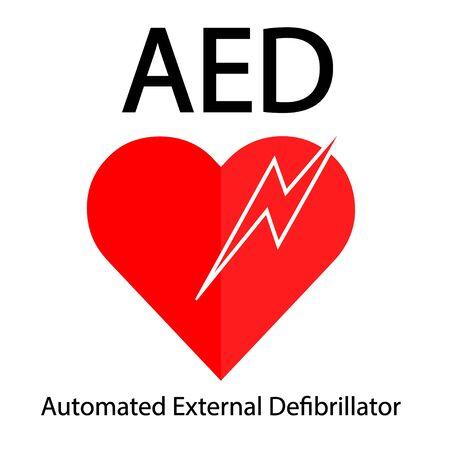AED symbol icon. Imagens - 144020337