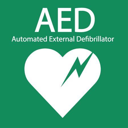 AED symbol icon. Imagens - 144020338