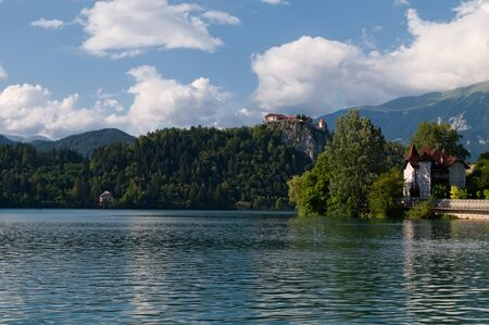 bled: The photo shows Lake Bled, Slovenia