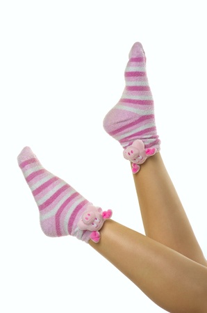 funny home socks photo