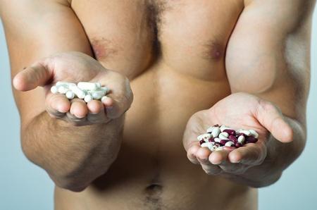 alimentos naturales o sint�ticos? Foto de archivo - 19606819