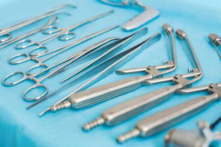 The photo shows proctologist equipment.