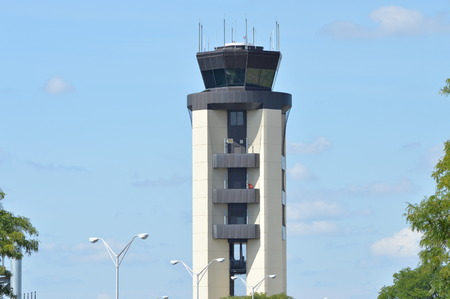 traffic control: Air Traffic Control Tower Stock Photo