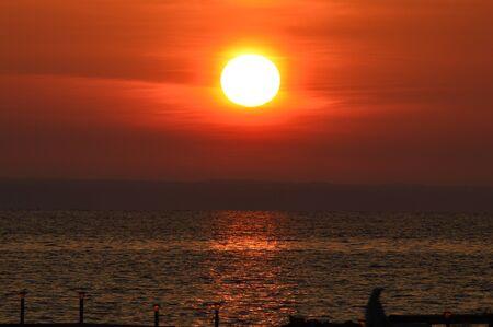 reflective: Reflective Sunrise