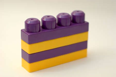 childern: Plastic block for childern playing indoors toys