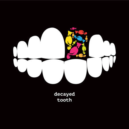 verfallenen Zahn