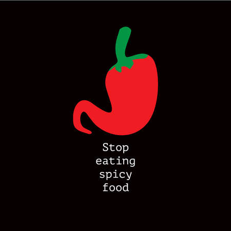 stop eating spicy food