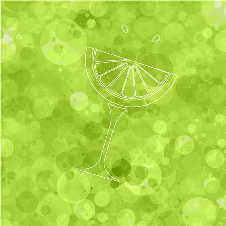 fiambres: vaso de limonada Vectores