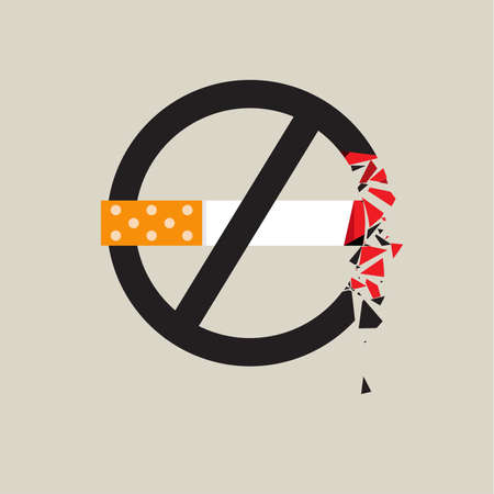 pernicious habit: No smoking