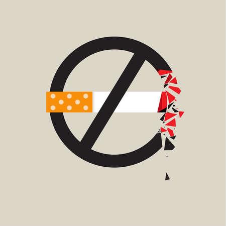 pernicious: No smoking