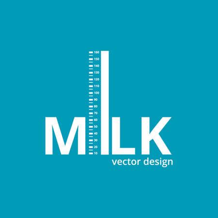 milk vector design