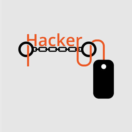 email bomb: Hackers vector design