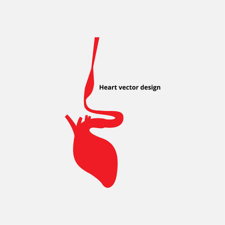aortic: Heart vector design
