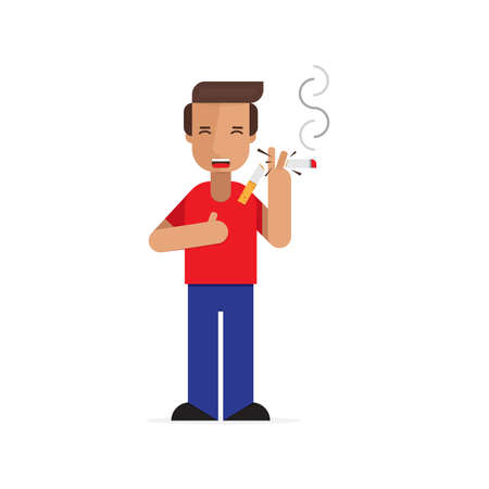 smoking vectors Illustration