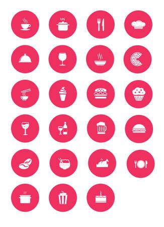 kitchen ware: pink Restaurant  icon