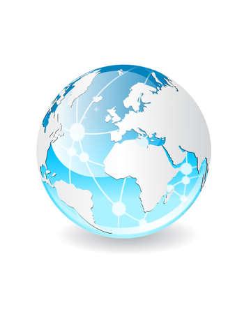world wide: World network communicarion