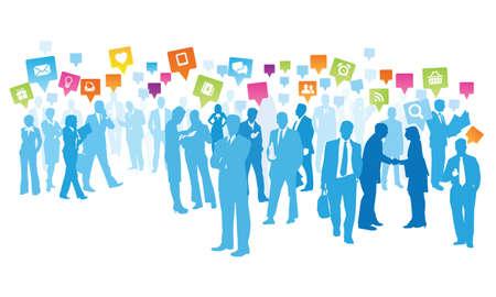 business relationship: social business