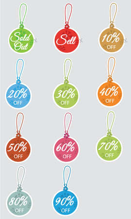 cristmas price tag Vector