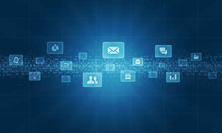 Social business connection Background