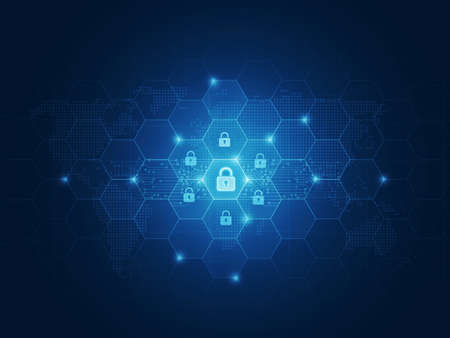 motion: Business security concept