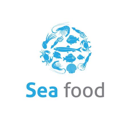 sea food: Sea food Restaurants template Illustration