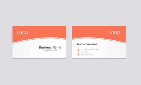 business card: business card design template Illustration