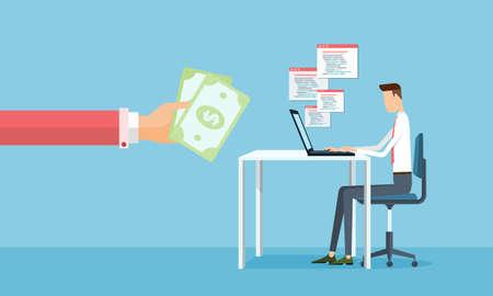 earnings: Unternehmen arbeiten und so Ertr�ge aus Online-Gesch�ft