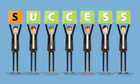 éxito del negocio