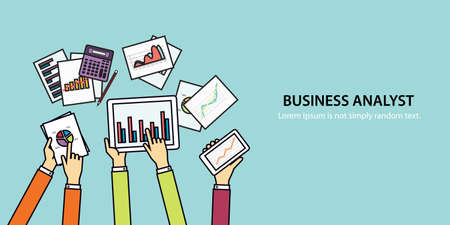 investment concept: concept banner for business finance and investment concept