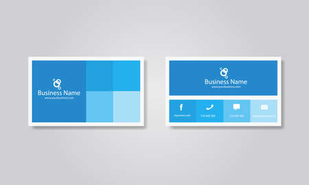 business card design: abstract business card design template.editable