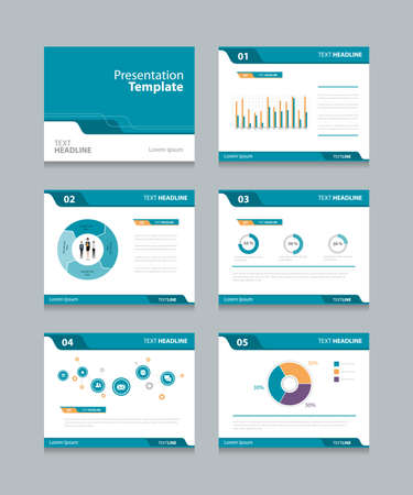 slides: Vector template presentation slides background design.info graphs and charts . slides design.flat style.